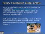 rotary foundation global grants1