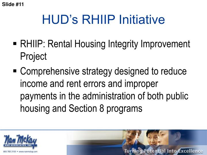 HUD's RHIIP Initiative