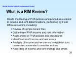 what is a rim review