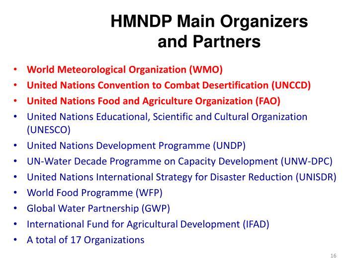 HMNDP Main Organizers