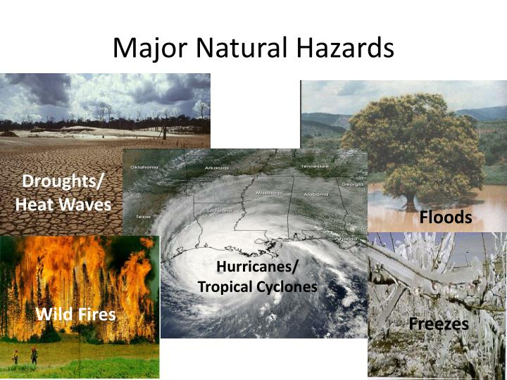 Major Natural Hazards