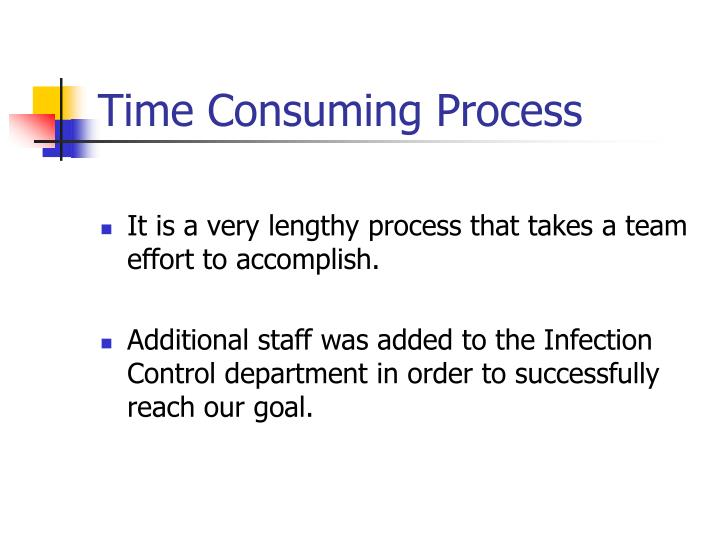 Time Consuming Process