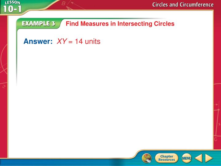 Find Measures in Intersecting Circles