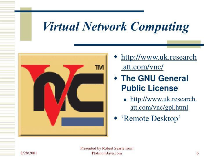 Virtual Network Computing