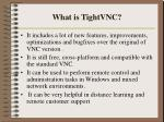 what is tightvnc