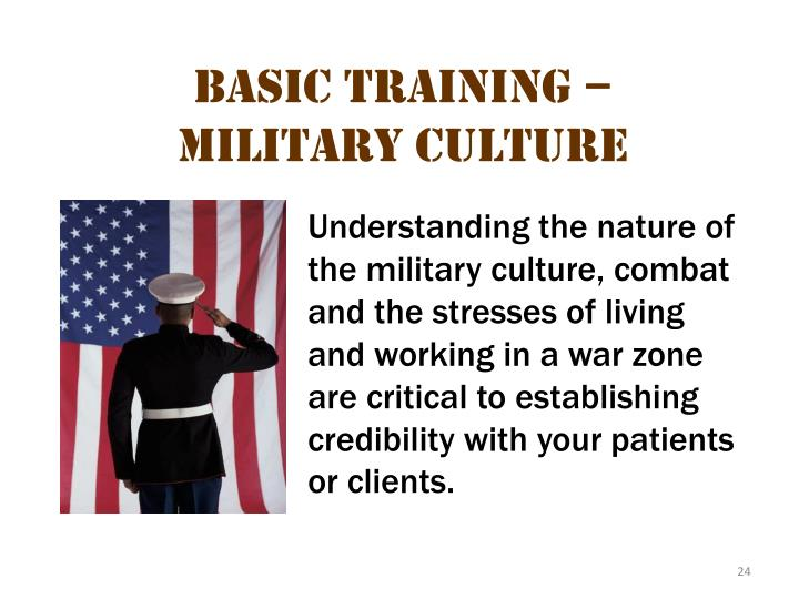 Basic Training – Military Culture 2