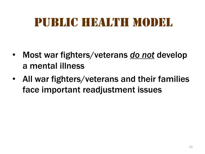 Public health  model 1