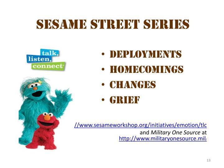Sesame  Street  series