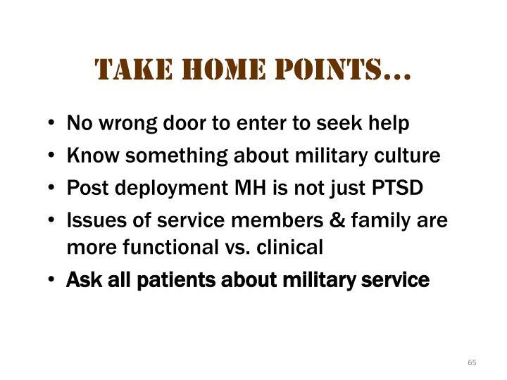 No wrong door to enter to seek help