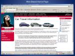 web based home page