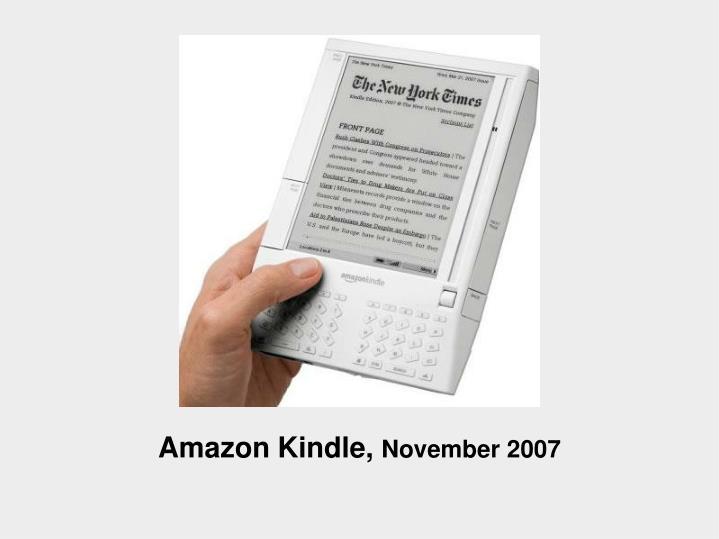 Amazon Kindle,