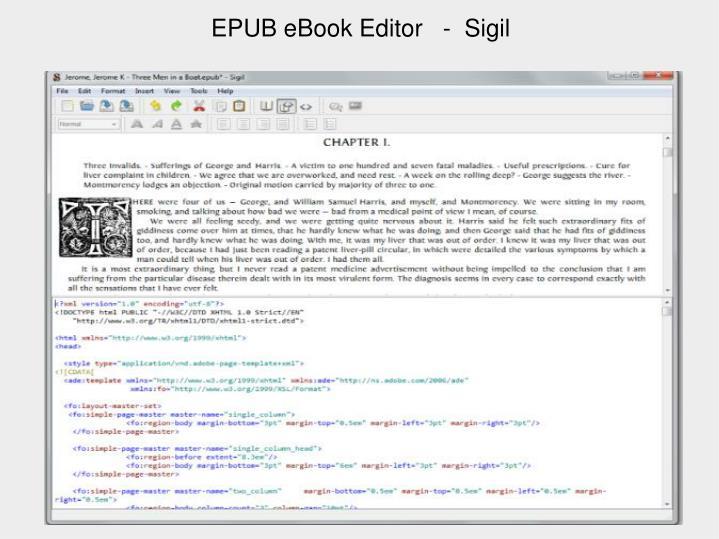 EPUB eBook Editor - Sigil