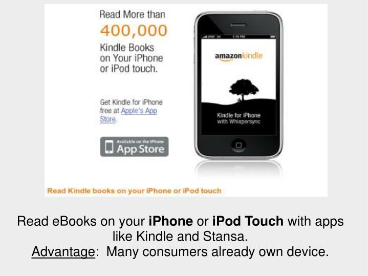 Read eBooks on your