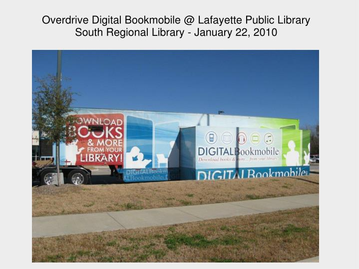 Overdrive Digital Bookmobile @ Lafayette Public Library