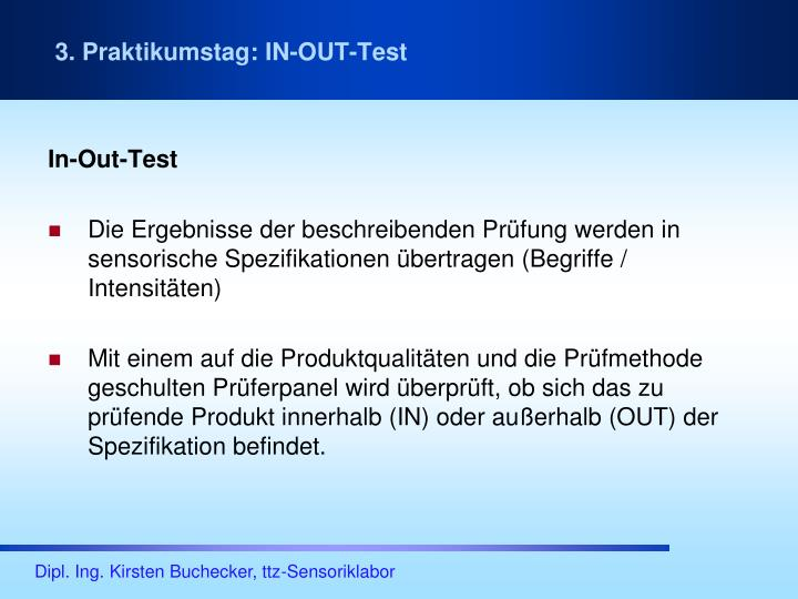 In-Out-Test