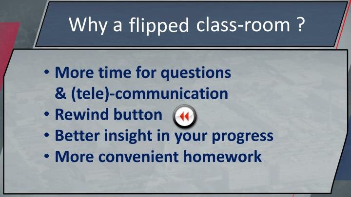 Why a               class-room ?
