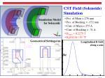 cst field solenoids simulation