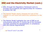 ere and the electricity market cont1