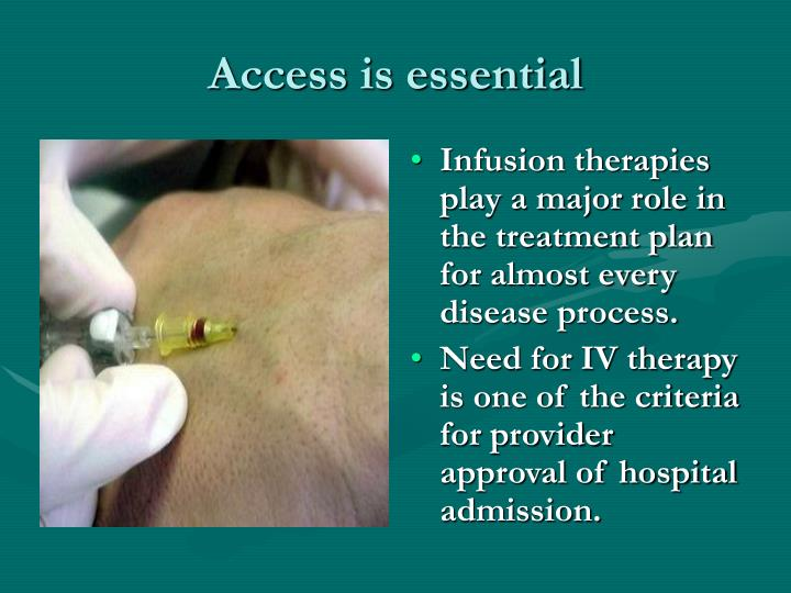 Access is essential