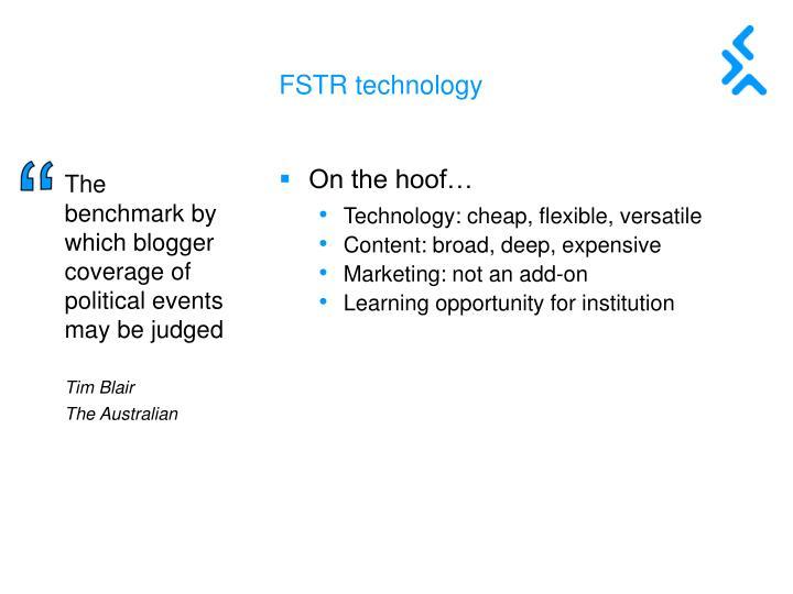 FSTR technology
