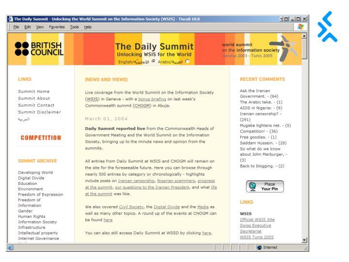 Screen grab of dailysummit 2
