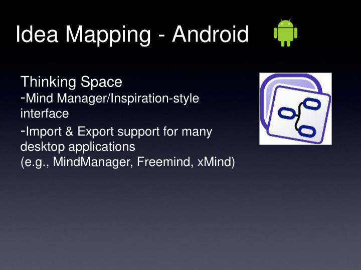 Idea Mapping - Android