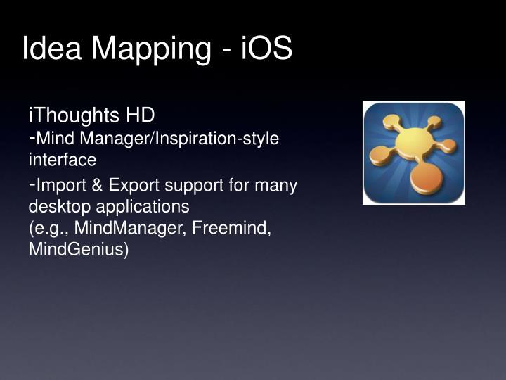 Idea Mapping - iOS