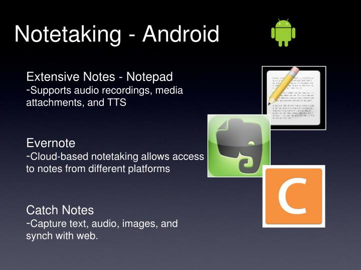 Notetaking - Android