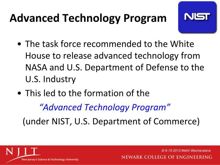 Advanced Technology Program