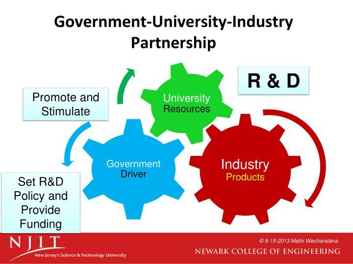 Government-University-Industry Partnership