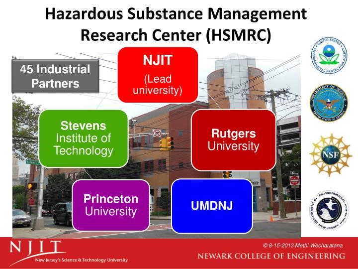 Hazardous Substance Management Research Center (HSMRC)