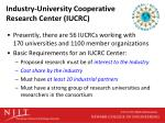 industry university cooperative research center iucrc1