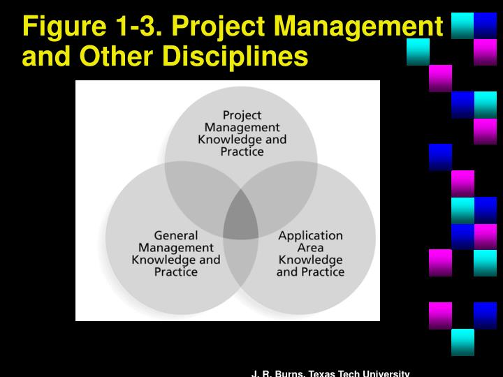 Figure 1-3. Project Management and Other Disciplines