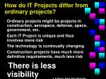 how do it projects differ from ordinary projects1