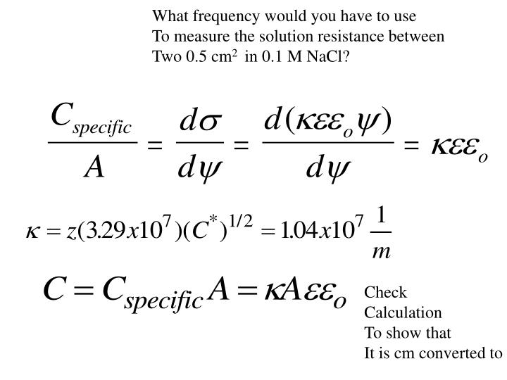 What frequency would you have to use
