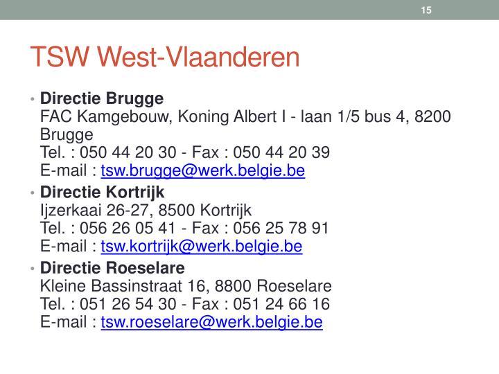 TSW West-Vlaanderen