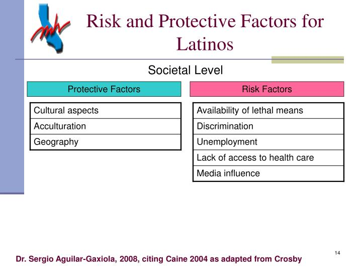 Risk and Protective Factors for Latinos