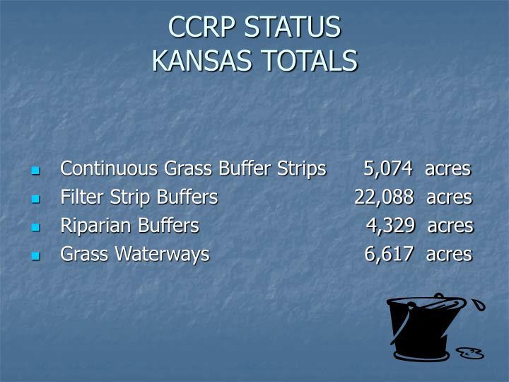 CCRP STATUS