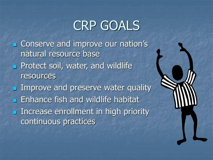 CRP GOALS
