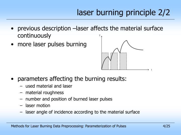 laser burning principle 2/2