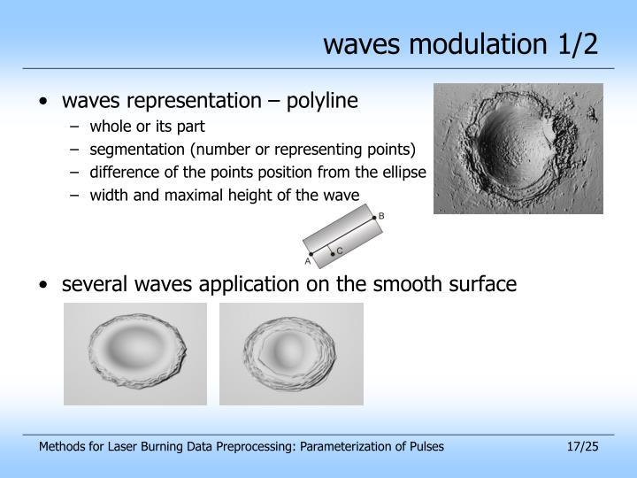 waves modulation 1/2