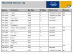 material master 2