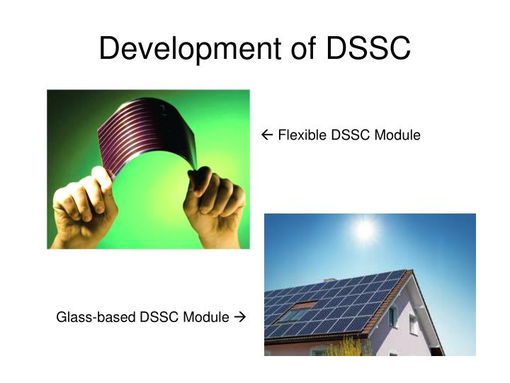 Development of DSSC