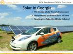solar in georgia