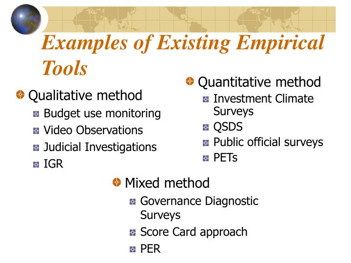Qualitative method