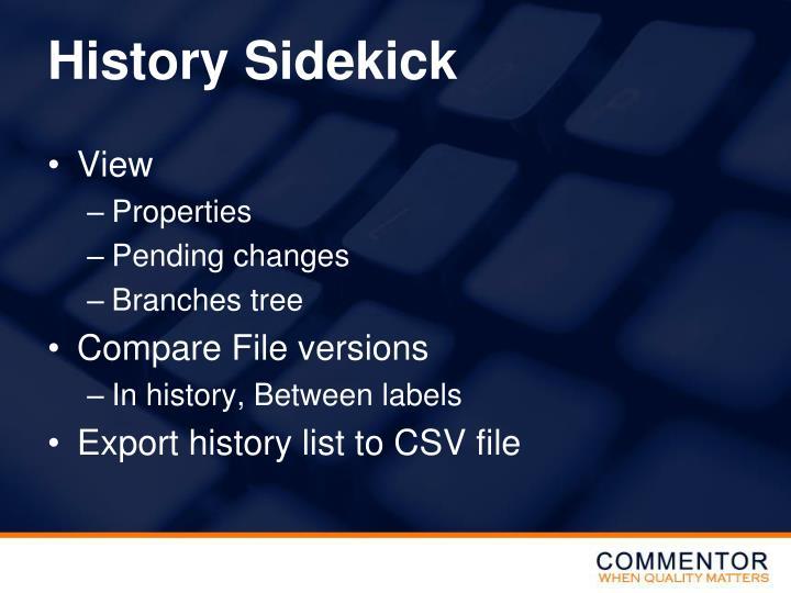 History Sidekick