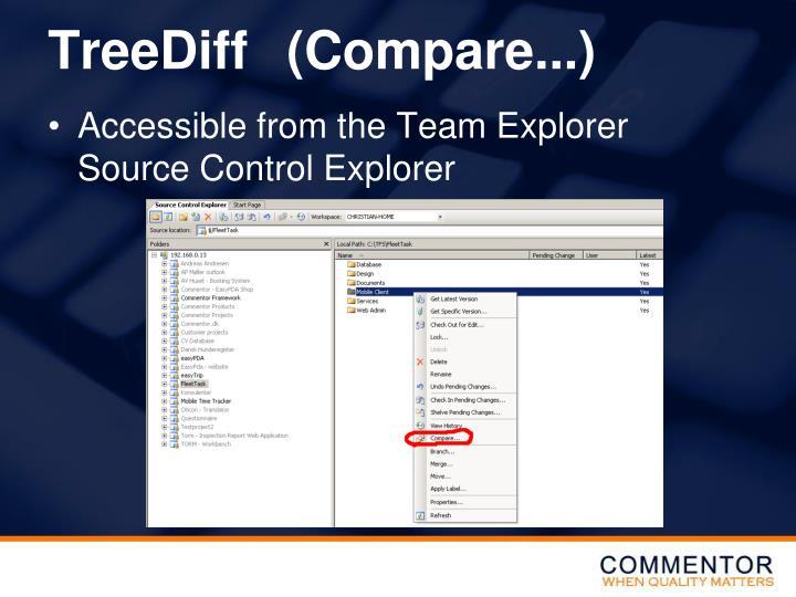 TreeDiff(Compare...)
