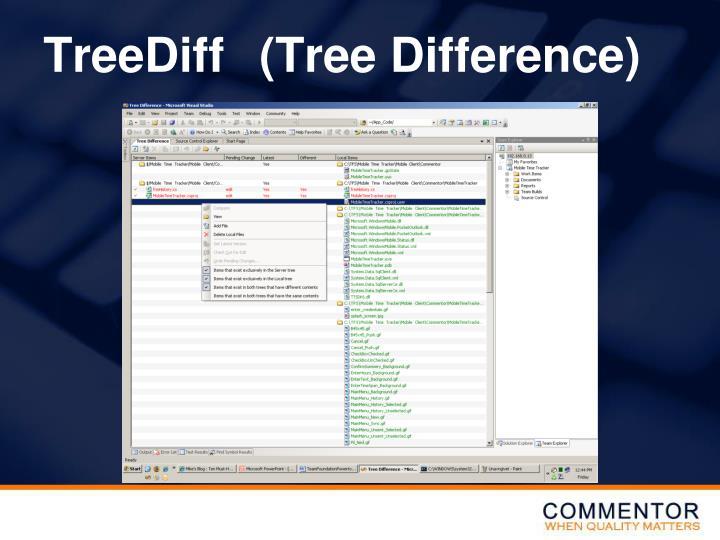 TreeDiff(Tree Difference)