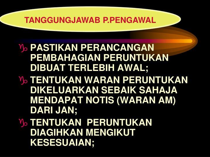 TANGGUNGJAWAB P.PENGAWAL