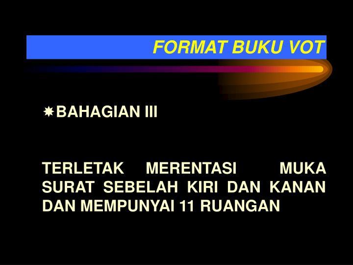 FORMAT BUKU VOT